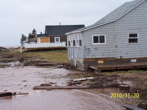 The 2010 nor'easter in Port Elgin was 1:25 year storm event