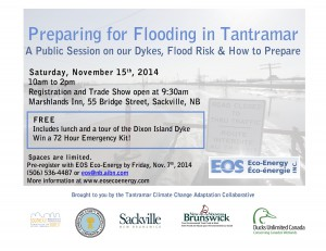 Preparing for Flooding in Tantramar POSTER