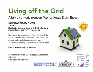 How to Live off the Grid Feb 7