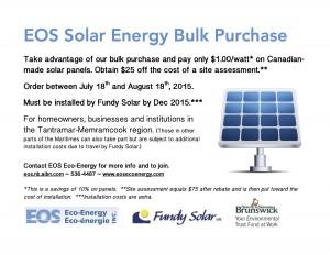 solar bulk purchase Poster