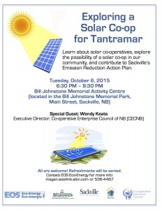 Solar Co-op Event Oct 6 Poster