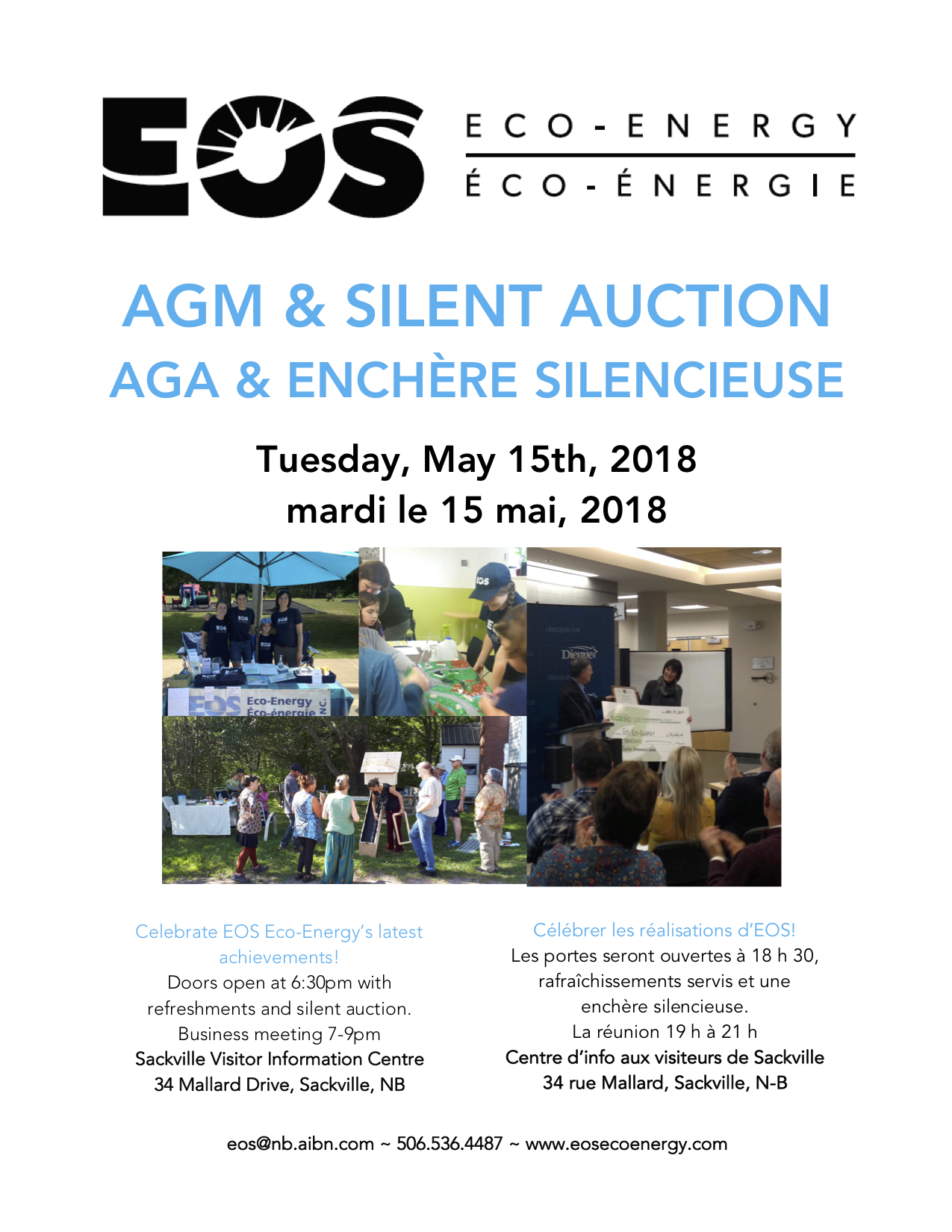 EOS AGM and Silent Auction 2018
